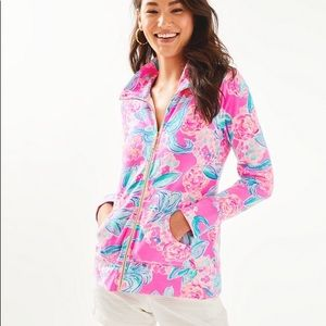 Leona zip up pinking positive